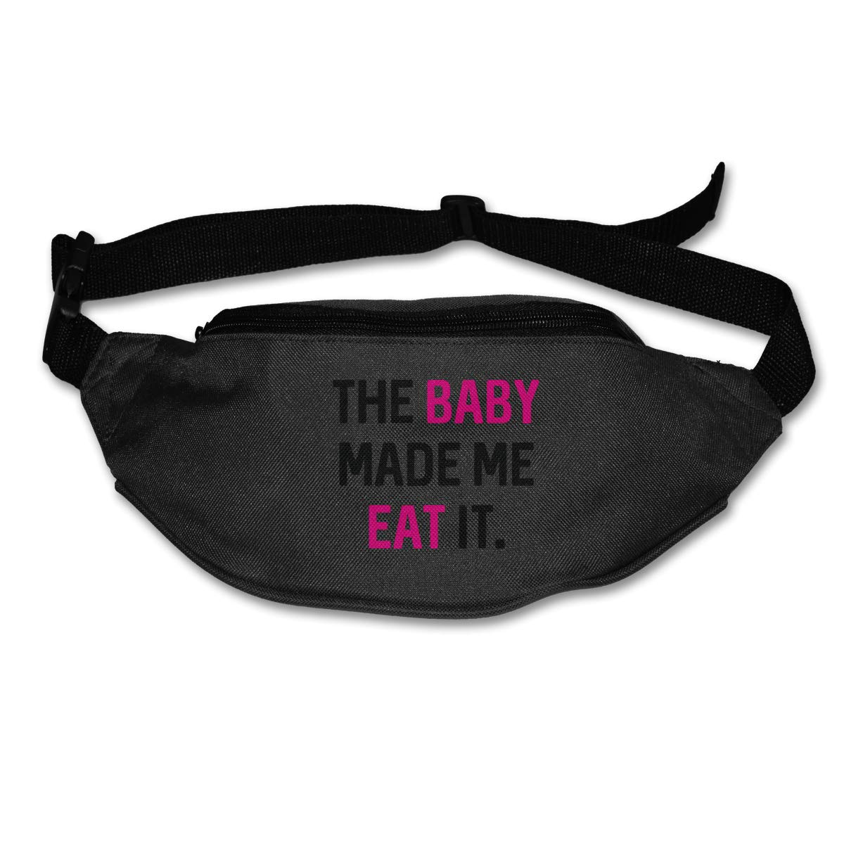 The Baby Made Me Eat It Sport Waist Packs Fanny Pack Adjustable For Travel