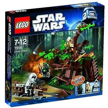 lego star wars 7956 jeu de construction lattaque ewok