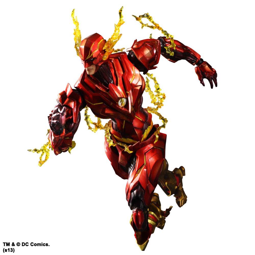DC Comics VARIANT PLAY ARTS改 フラッシュ(PVC塗装済みアクションフィギュア) B00EC59WTE