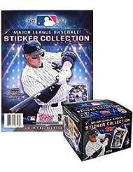 2018 Topps MLB Baseball Sticker Collection Master Kit (50 pack box & 1 album)