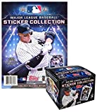 2018 Topps MLB Baseball Sticker Collection Master Kit (50 pack box & 1 album)