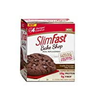 4-Count SlimFast Bakeshop Meal Replacement Cookie 2.3Oz