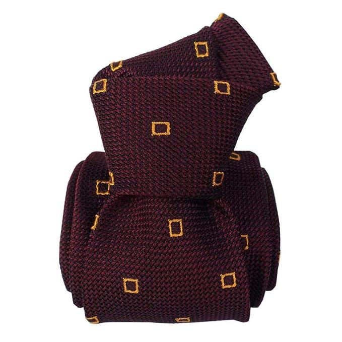 Signni et Design - Corbata granadina de seda, diseño de cervo ...