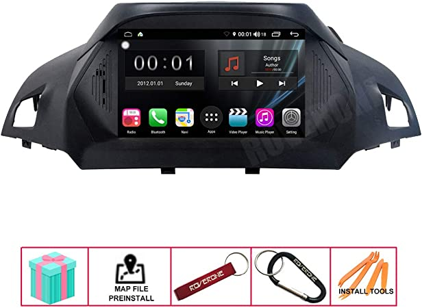 Roverone Android System 8 Inch Car Radio Gps For Ford Elektronik
