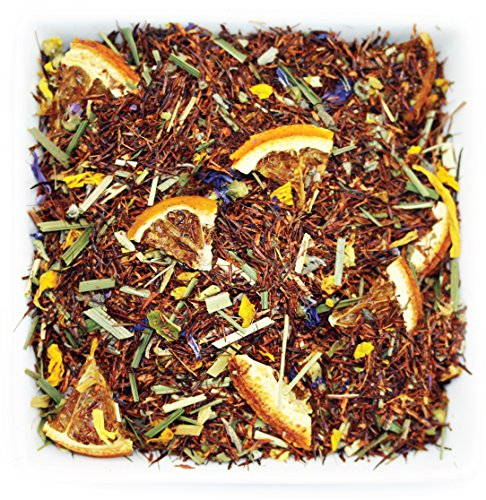 Lime Blossom Tea - Tealyra - Lemon Lime Sage - Red Bush Rooibos - Lemongrass - Orange - Herbal Loose Leaf Tea - Healthy Immune Boosting - Antioxidants Rich - Caffeine-Free - 112g (4-ounce)