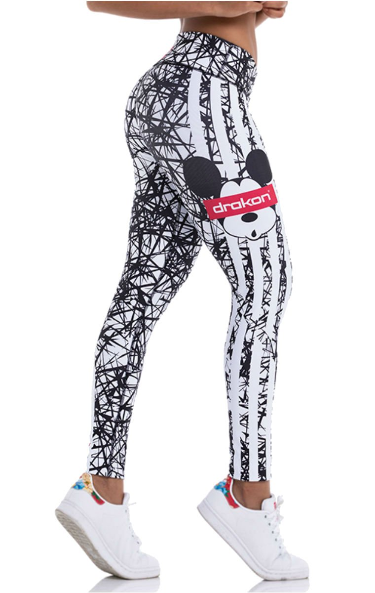 Drakon Many Styles of Crossfit Leggings Women Colombian Yoga Pants Compression Tights (Diamond)