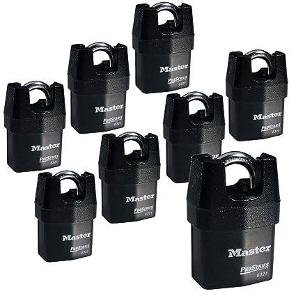 0cb3ca1bced3 Master Lock - Eight (8) High Security Pro Series Padlocks 6321NKA-8  w/BumpStop Technology