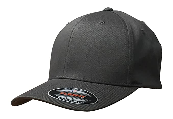 e26f8568 Image Unavailable. Image not available for. Color: Flexfit Premium Original  Blank Cotton Twill Fitted Hat