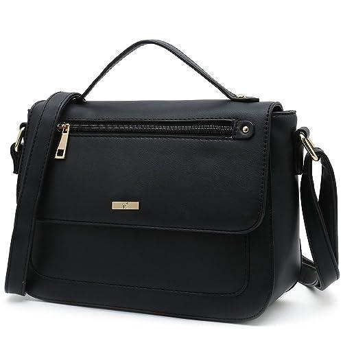 78e4ddac1a5 Amazon.com  Women s Crossbody Purses Popular Cross Shoulder Bags Small Side  Handbag Designer (Coffee)  Shoes