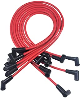 a-team performance spark plug wire set high performance fits small block  chevrolet chevy gm