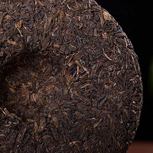 Dian Mai 05 years old mandarin tree Pu'er tea 357 g/cake 13 years Kunming dry barn cake 05年老曼峨古树普洱生茶357克/饼 13年昆明干仓单饼 by Dian Mai 滇迈 (Image #5)