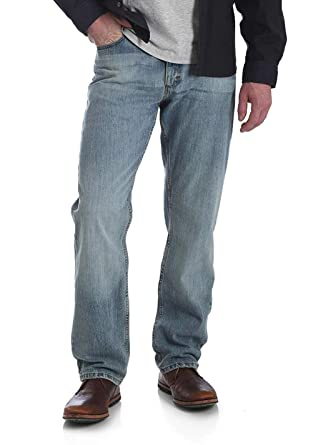 9495e0e6 Amazon.com: Wrangler Men's 5 Star Relaxed Fit Jean: Clothing