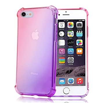 Funda Transparente para iPhone 6/6s,Ultrafina Suave Silicona TPU Protectora Carcasa para Muchachas Mujeres,Antigolpes Anti-arañazos Cristal Case Cover ...