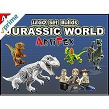 Clip: Lego Set Builds Jurassic World - Artifex