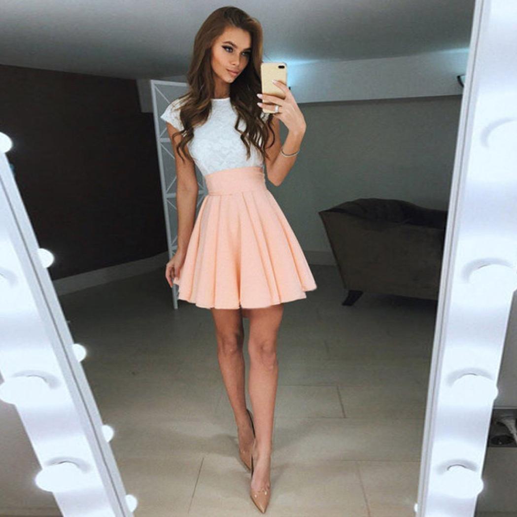 bed0e612e4 Amazon.com  Hot Sale! WuyiMC Women Summer Mini Dress