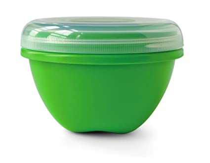 Merveilleux Preserve Food Storage Container, 25.5 Ounce/Large, Apple Green