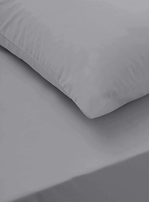 Sapphire Collection - Sábanas bajeras de algodón egipcio 100 % de ...