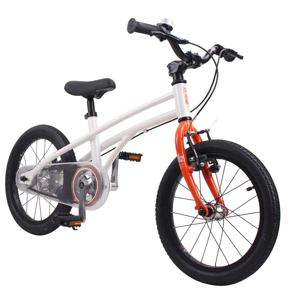 LVZAIXI マウンテンバイク自転車ディスクブレーキサスペンションフォークファットタイヤ ( 色 : オレンジ , サイズ さいず : 14Inch ) B07BT3V99Pオレンジ 14Inch
