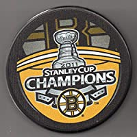 Boston Bruins 2011 Stanley Cup Champions Official NHL Puck + FREE Puck Cube