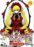 Rozen Maiden DVD Season 1 - 3 , Eps. 1-37 End / English Subtitle