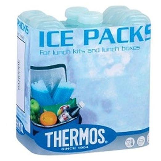 2/Unidades Color Azul THERMOS Weekend Reutilizable Mini Bolsas de Hielo 100/g