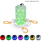 Dust2Oasis Camping Lights String, Portable Outdoor Camping Tent Light Lantern USB Powered LED Rope Light for Camping,Hiking,Safety,Emergencies,Garden,Party, Bedroom Deco (Multi Color)