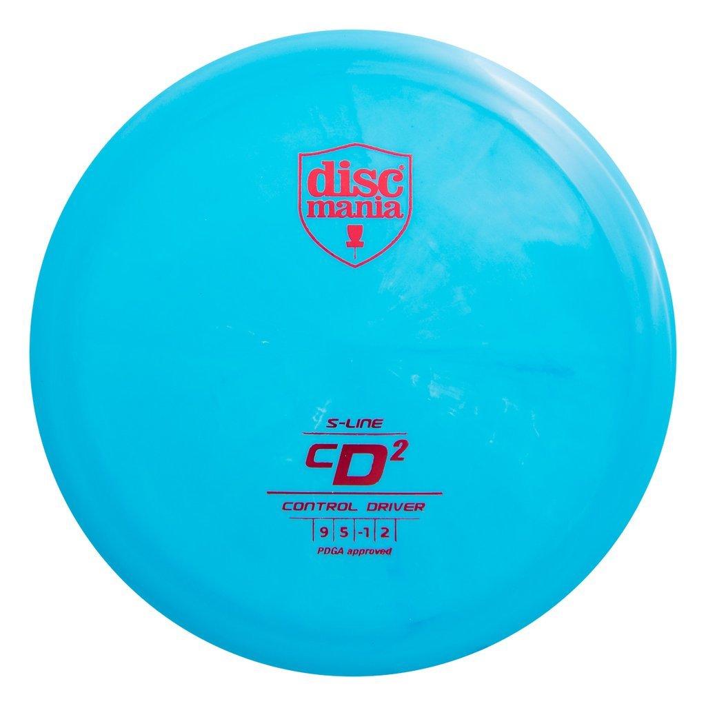 Discmania S - Line cd2コントロールドライバーゴルフディスク[ Colors May Vary ] B07FWMJVSP  170-172g