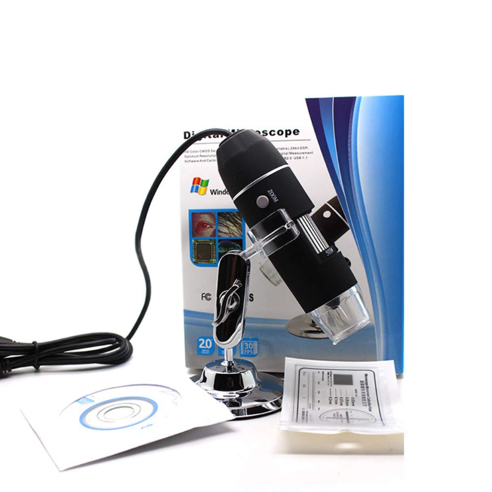 Mini with Metal Stand Compatible with Mac Window 7 8 10 Android IOS BESTSUGER 1000x Magnification Endoscope 8 LED USB Digital Microscope