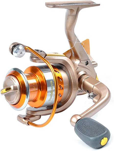 Yoshikawa Carrete de Pesca Spinning luz Peso Profesional de Agua ...