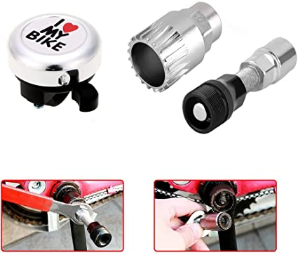 Bicycle Crank Removal Tool Crankset Extractor Puller Remover Arm Bike Cycle Set