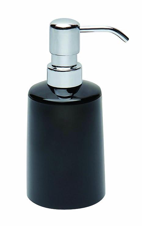 Gerson f1143bl dispensador para jabón líquido, acrílico, Negro, 7,5 x 7