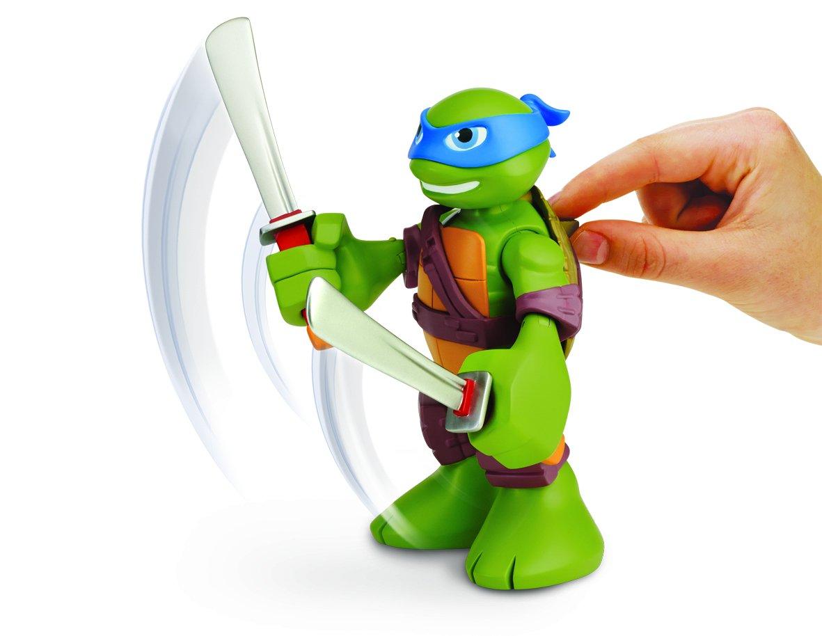 Amazon.com: Turtles Leo Half-Shell Heroes Talking Tech ...