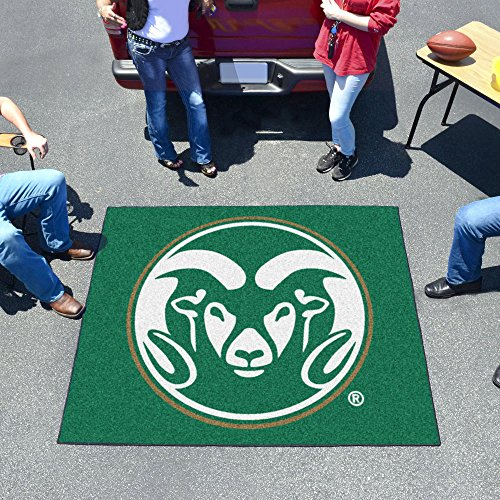 Tailgater Mat w Official Colorado State Rams Logo by Fanmats