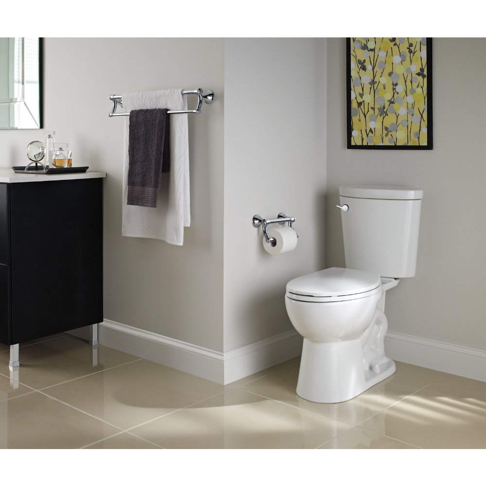 delta faucet 41419 transitional 24 inch towel bar assist bar polished chrome amazoncom