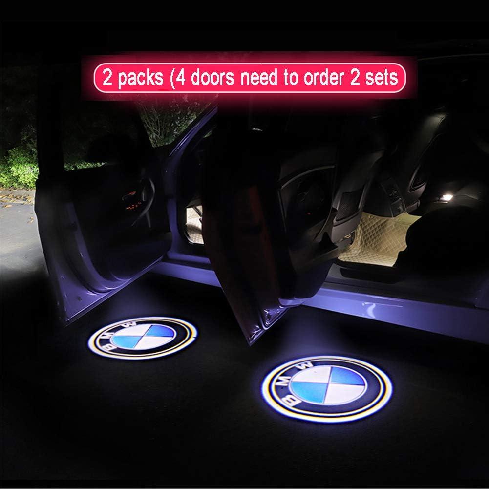 Cqlights Puerta del coche Iluminación LED Logotipo Proyector ...