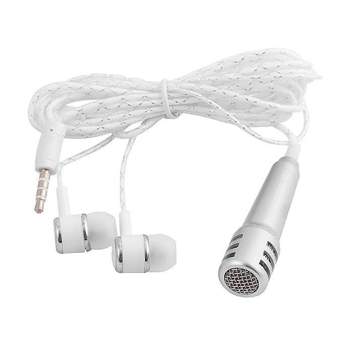 Amazon.com: eDealMax Mini Protable auriculares Con micrófono de un auricular de tono de Plata w Mic Para el teléfono móvil: Electronics