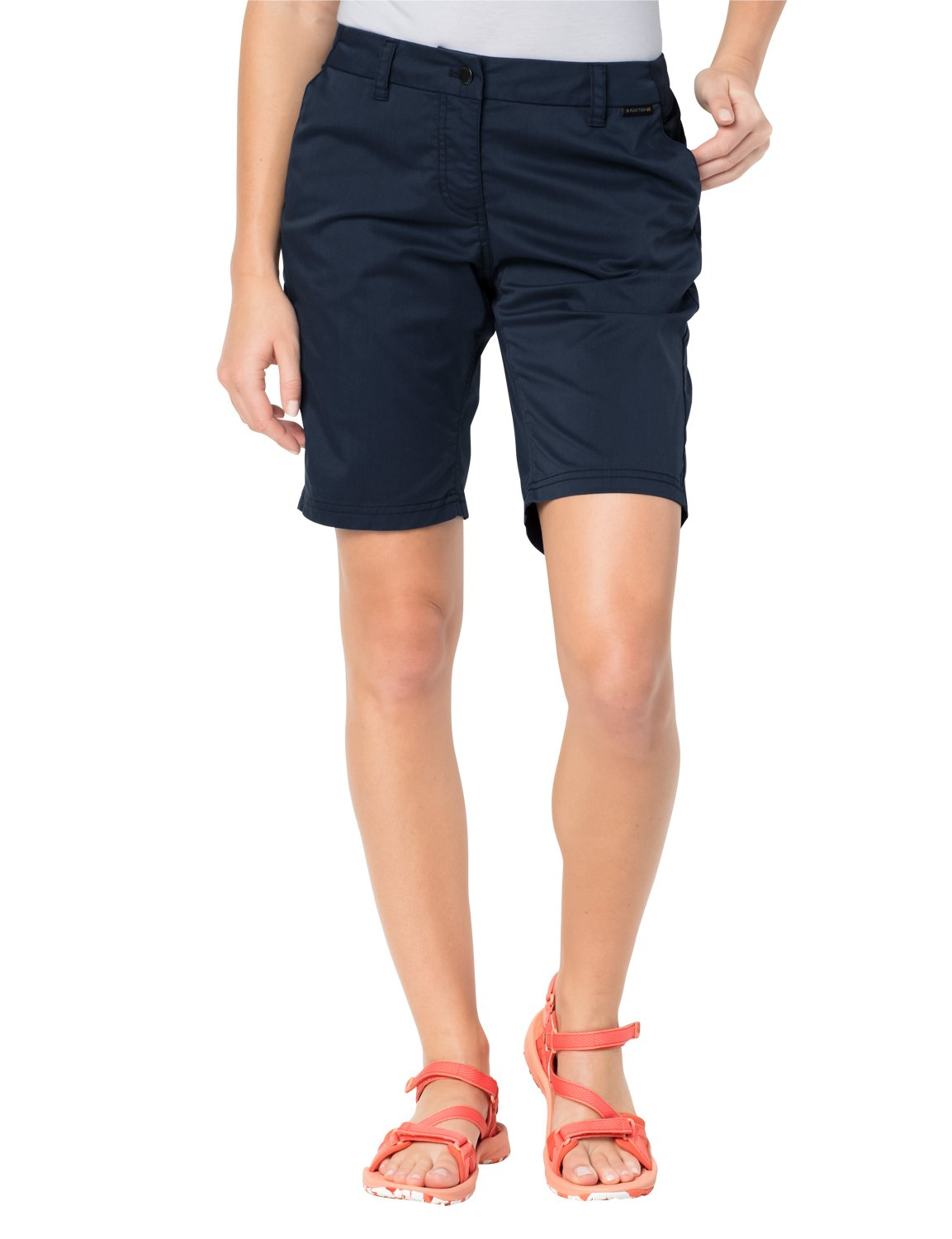Jack Wolfskin Women's Belden Shorts, Midnight Blue, 42 (US 14) by Jack Wolfskin