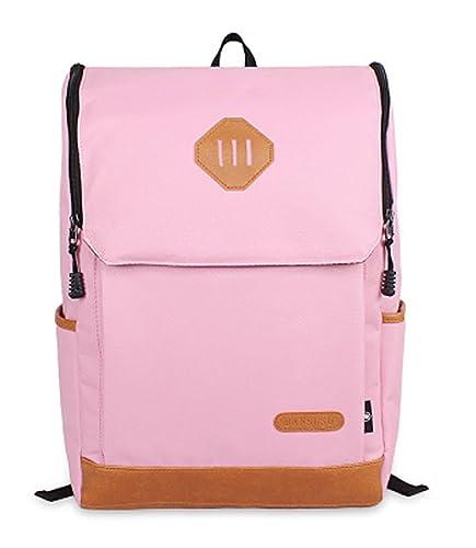 OULINBEIN Cool College School Laptop Mochila Pack con patrón de hermosos hecho de Dacron Rosa: Amazon.es: Zapatos y complementos