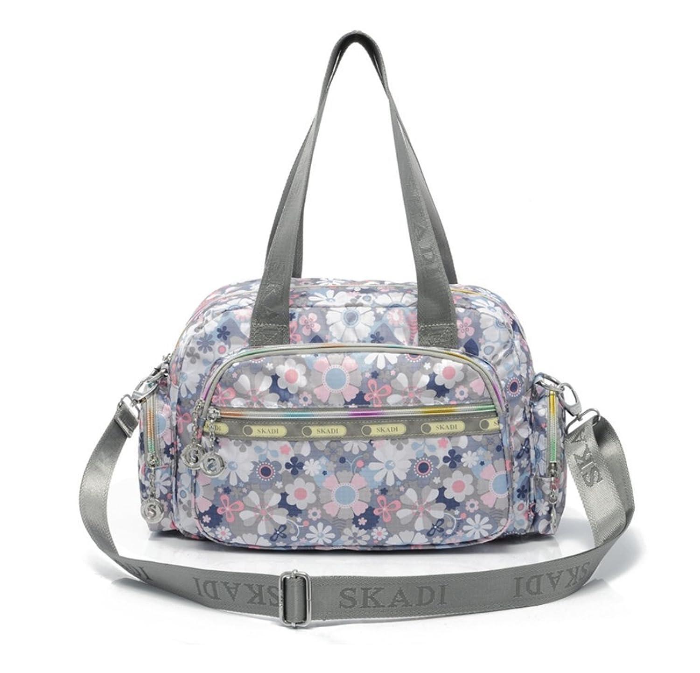 Medium Top Handle Handbag Fashion Colorful Printing Crossbody Shoulder Bag Casual Satchel for Women