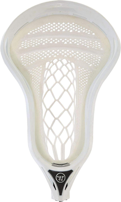 Warrior Burn Warp Pro Complete Lacrosse Attack Stick White Mid Pocket