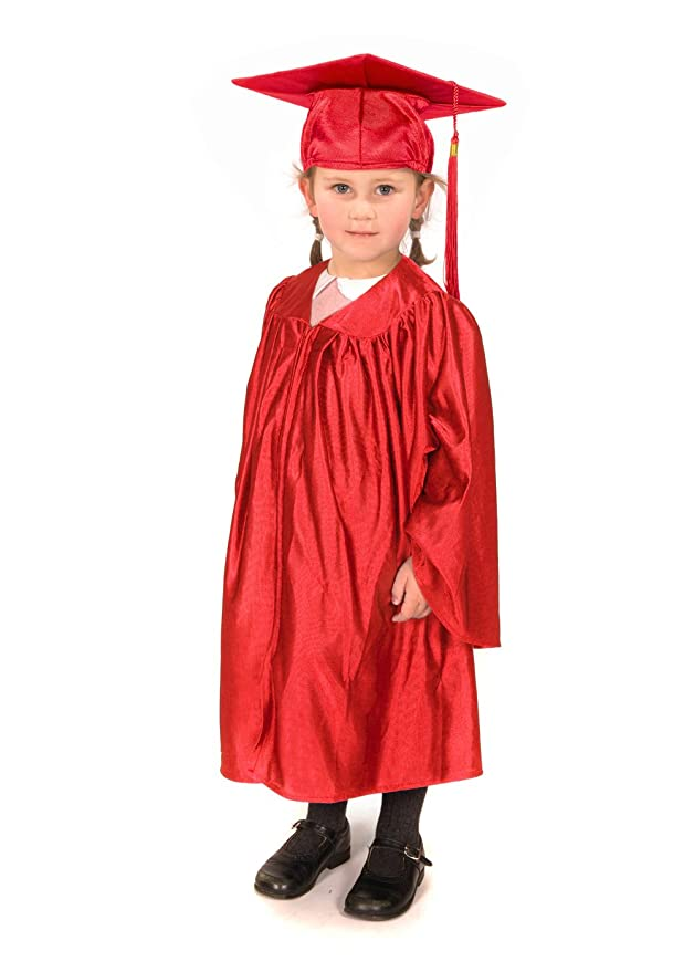 Amazon.com: Childrens Graduation Gowns (Age 3-5) and Matching Cap ...