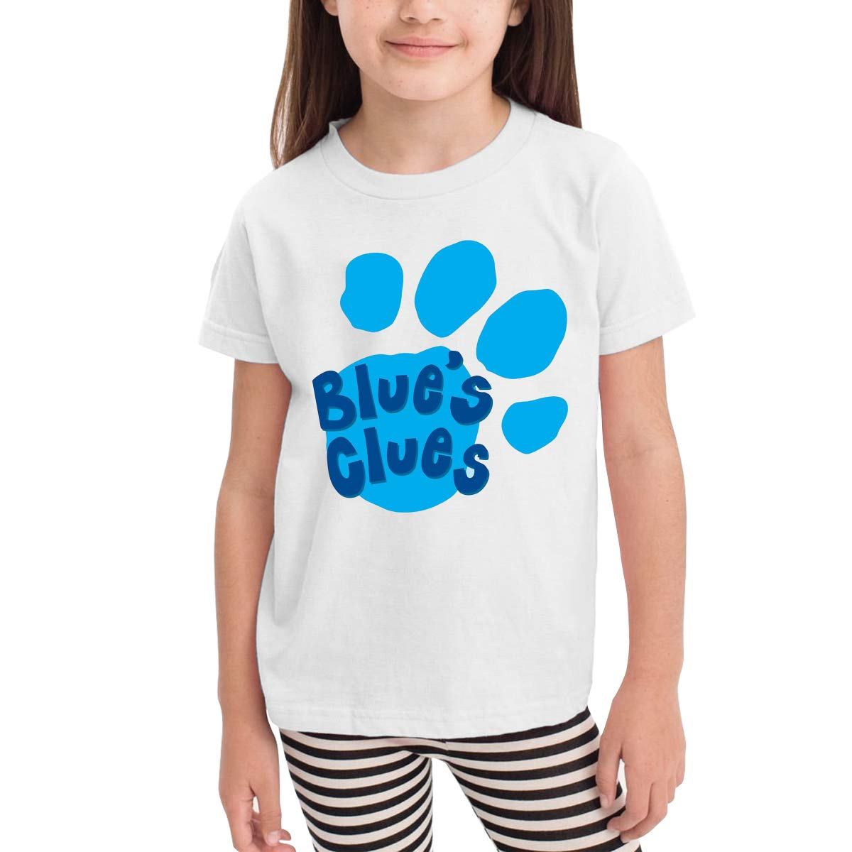 SuperLee Childrens Blues Clues Soft Short Sleeve Tee Black
