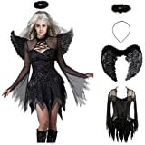 Wicked Evil Angel Teen Costume