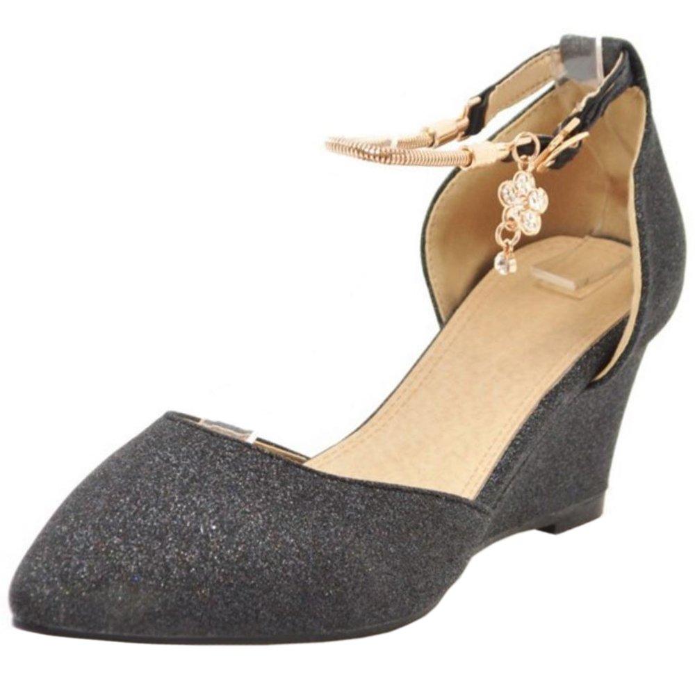 Zanpa Heels Femmes Black Zanpa Moda Escarpins Wedge Heels Black 831a345 - epictionpvp.space