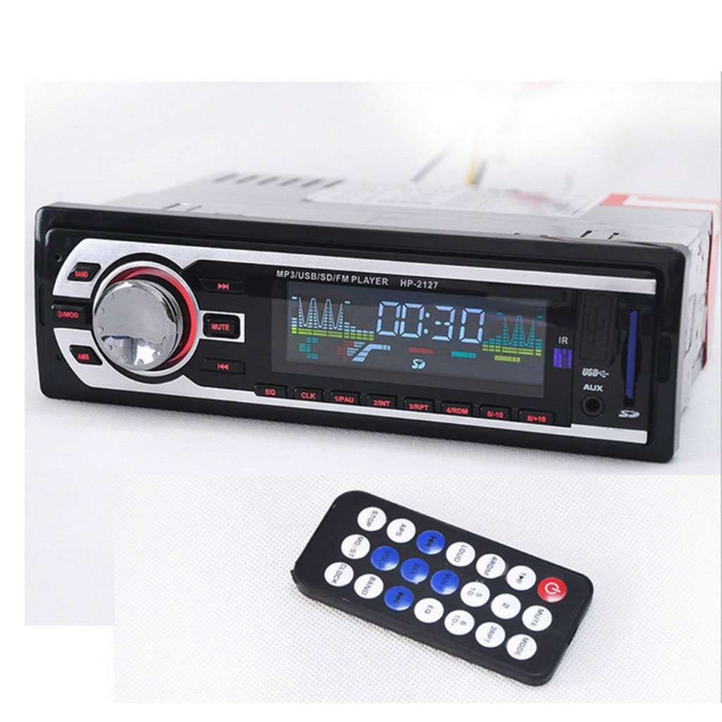 Gazechimp 2127 Autoradio Audio Stereo Radio mit FM / USB / MP3 ...