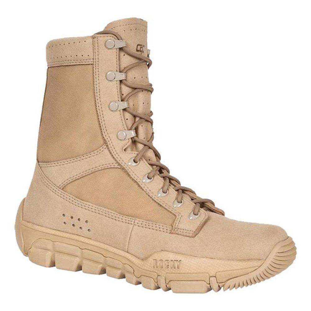 49fa730b678 Amazon.com | Rocky RKYC003 Mens C5C Commercial Military Boot 3 E US ...