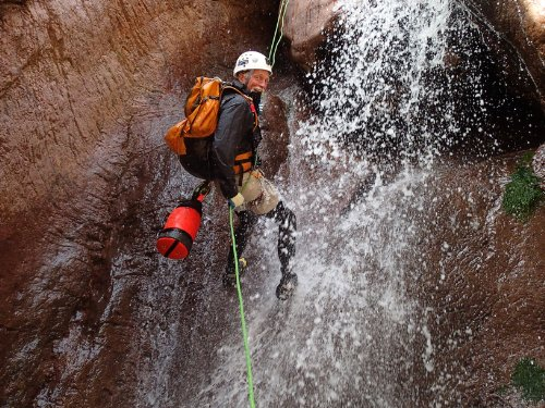 """Short Descent"" Canyoneering Rope Bag"