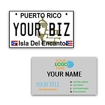 Amazon Bleureigntm Personalized Custom Aluminum Puerto Rico