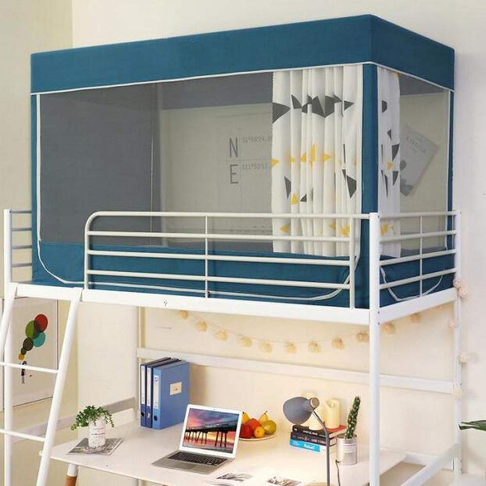 Mosquito Net Bunk Bed Tent Curtain Cloth Dormitory Mid Sleeper Bed Canopy Spread Blackout Curtains Dustproof Mosquito Protection Screen Net School Students Bed Mosquito 120 190 110cm 90 190 110cm Buy Online In Grenada At Grenada Desertcart Com