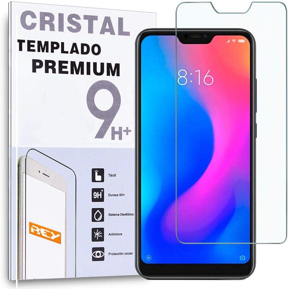 Protector de Pantalla para XIAOMI REDMI 6 Pro - XIAOMI MI A2 Lite, Cristal Vidrio Templado Premium